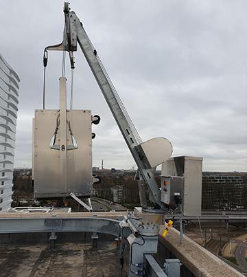 Dakwagen (gevellift) monorail
